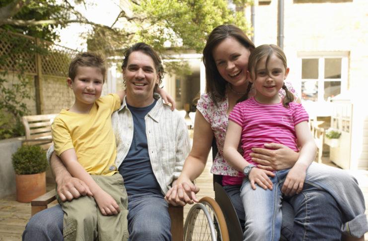 genitori disabili