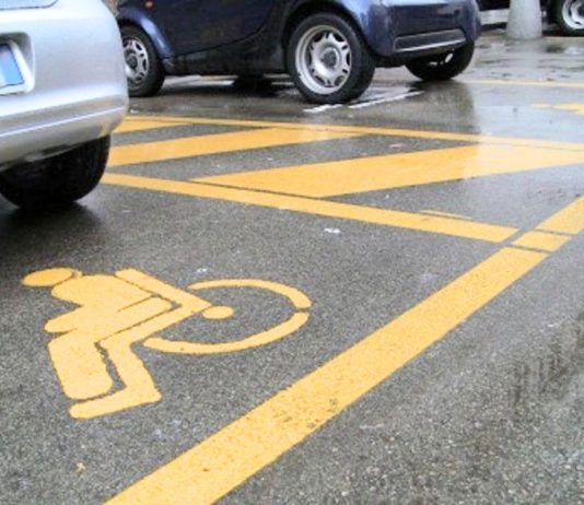 Posti auto per disabili
